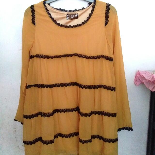 Pinke Midi Dress
