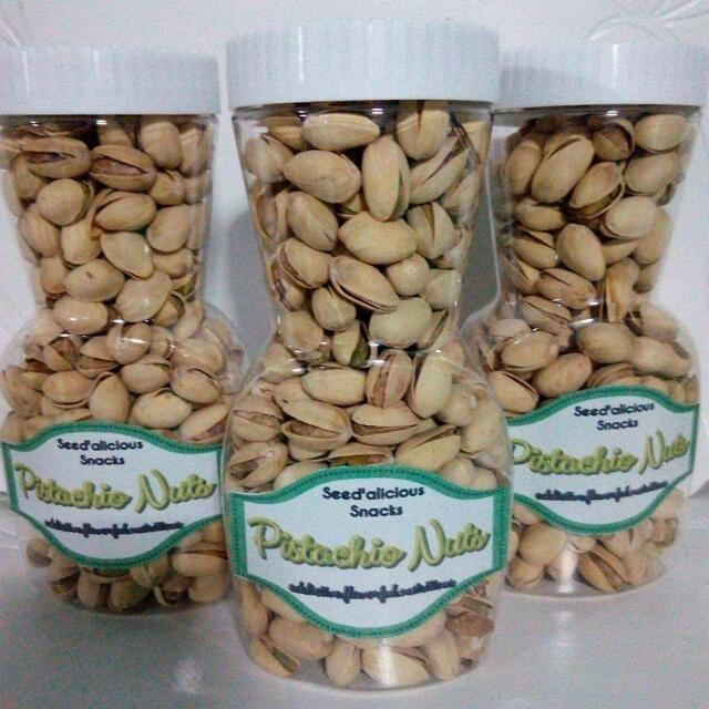 Pistachio And Almond Nuts