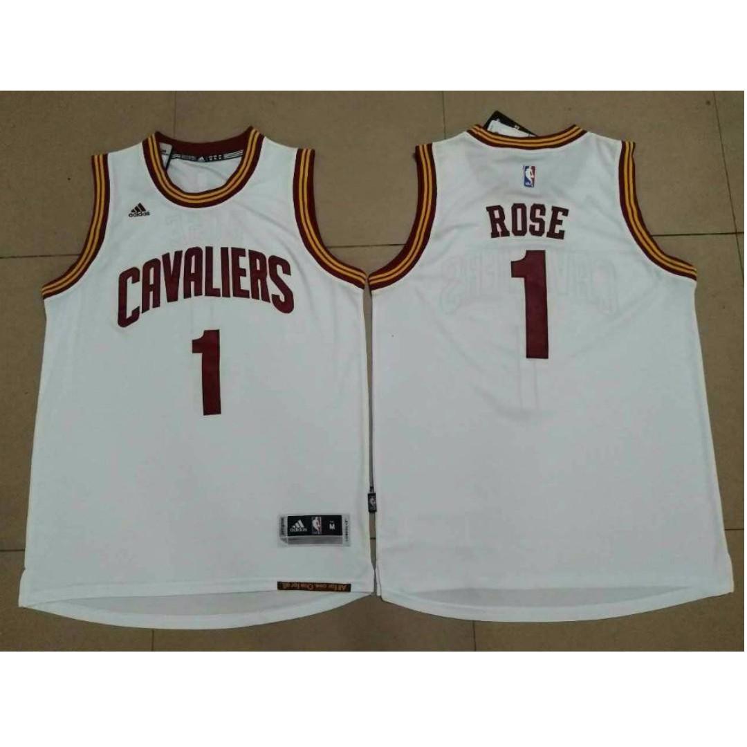 4378c6383 PO  NBA Cleveland Cavaliers Derrick Rose Home Swingman jersey ...
