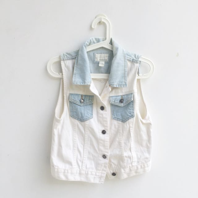 PRELOVED Forever 21 Denim vest