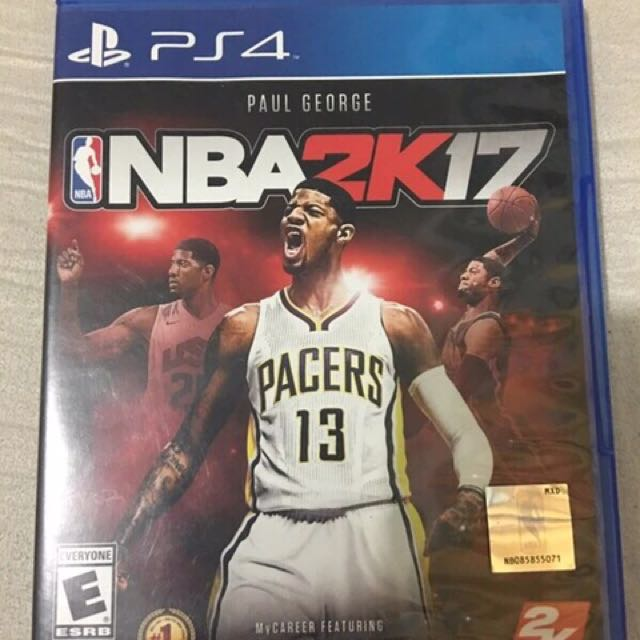 PS4 Game NBA2k17