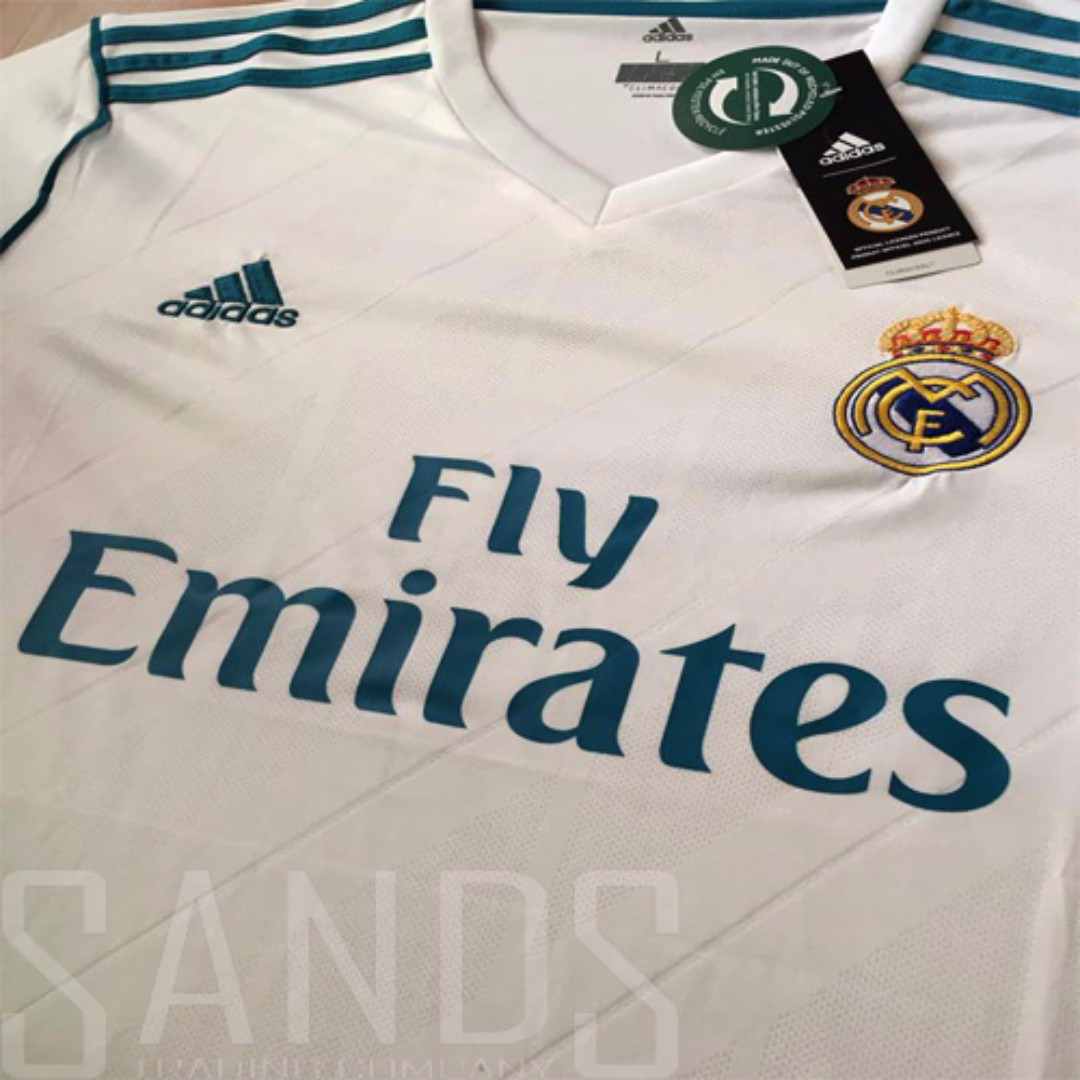 d050d8f0a Real Madrid Home Jersey 2017 2018  Ready Stock
