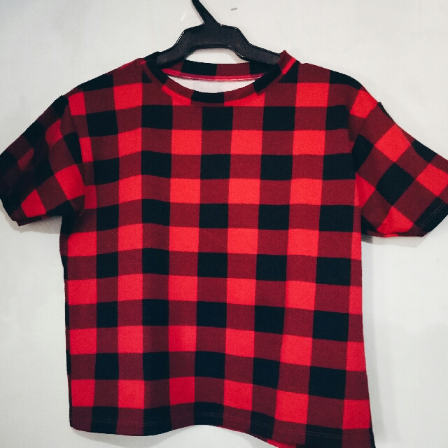 Red Checkered