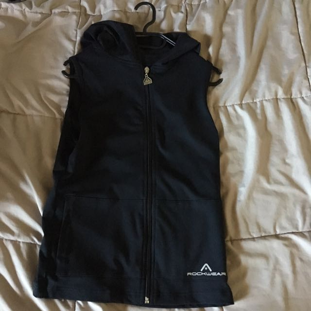 Rock wear Sleeveless Hoodie