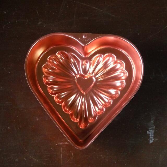 Cake Tin (Rose Gold) ❤