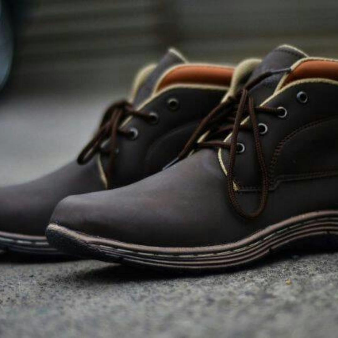Sepatu Boot Pria Kickers Slim + Box Kickers 79183b8032