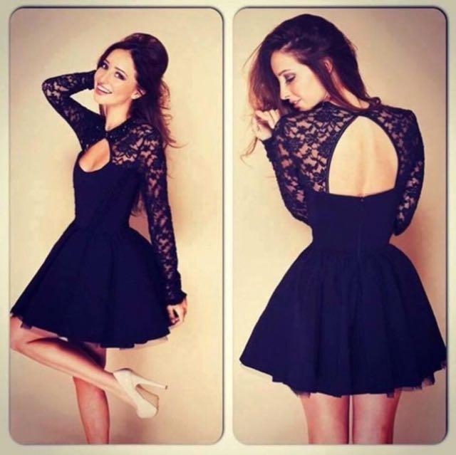Sexyback Zipper Dress