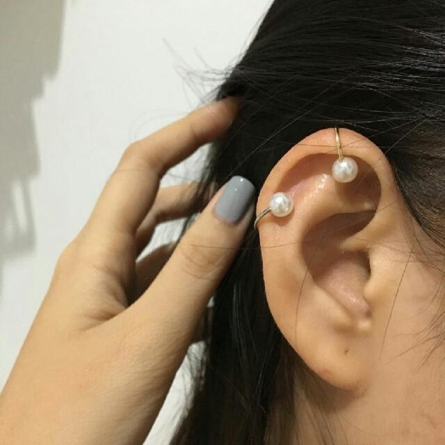 Simple Ear Clip - Anting Sederhana