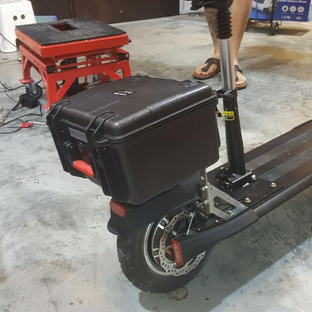 Storage Box Suitable For Most Electric Scooter Sports Scooters Skates On Carou