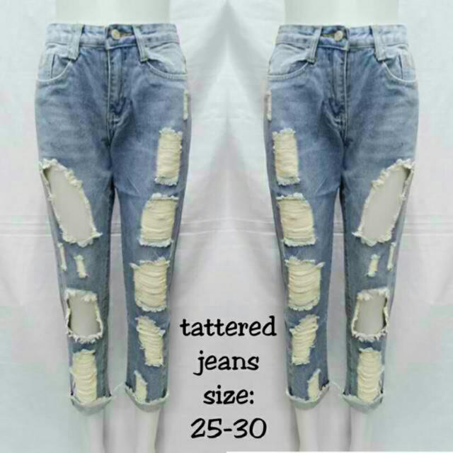 HM Tattered Jeans