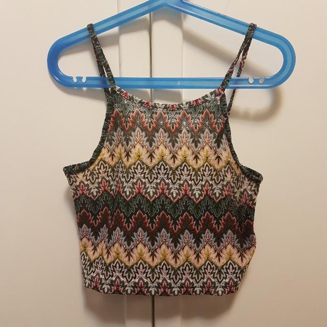 TopShop Halter Crop Top