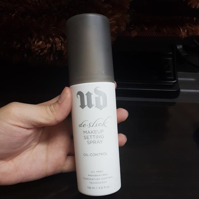 Urban Decay Makeup Setting Spray Oil Control
