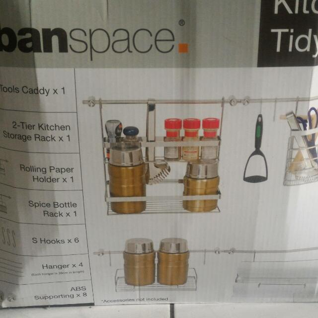 Urban Space Kitchen Tidy Set