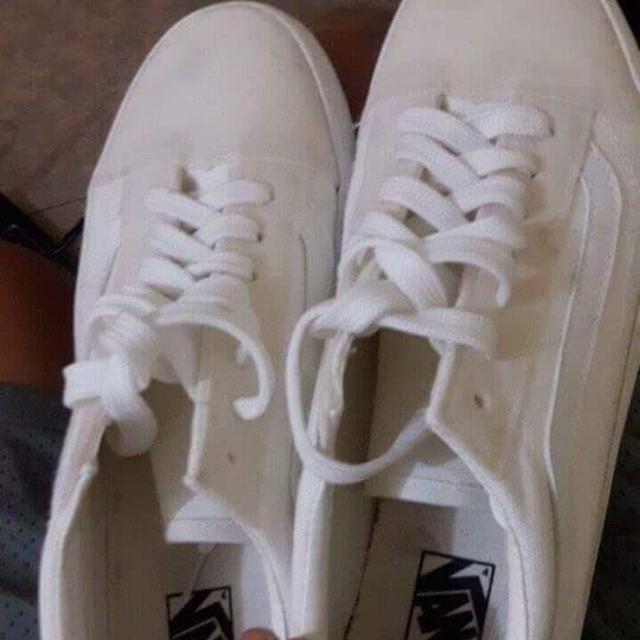 REPRICED Vans Old Skool True White