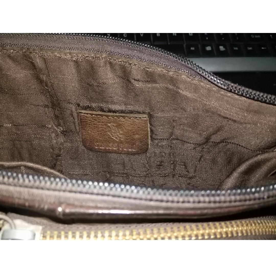 cc26556d1016 Vintage Swiss Polo Leather Waist Pouch Bag