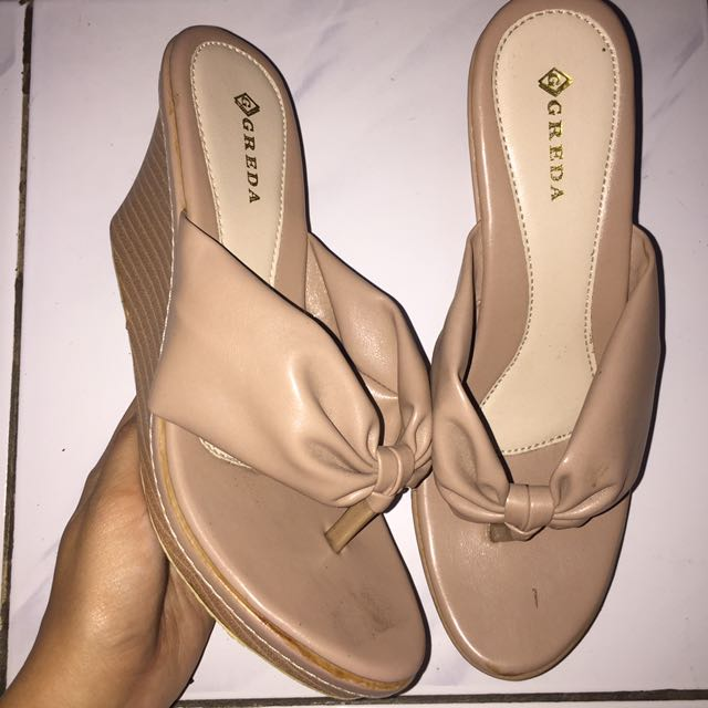 Wedges Sandals Nude