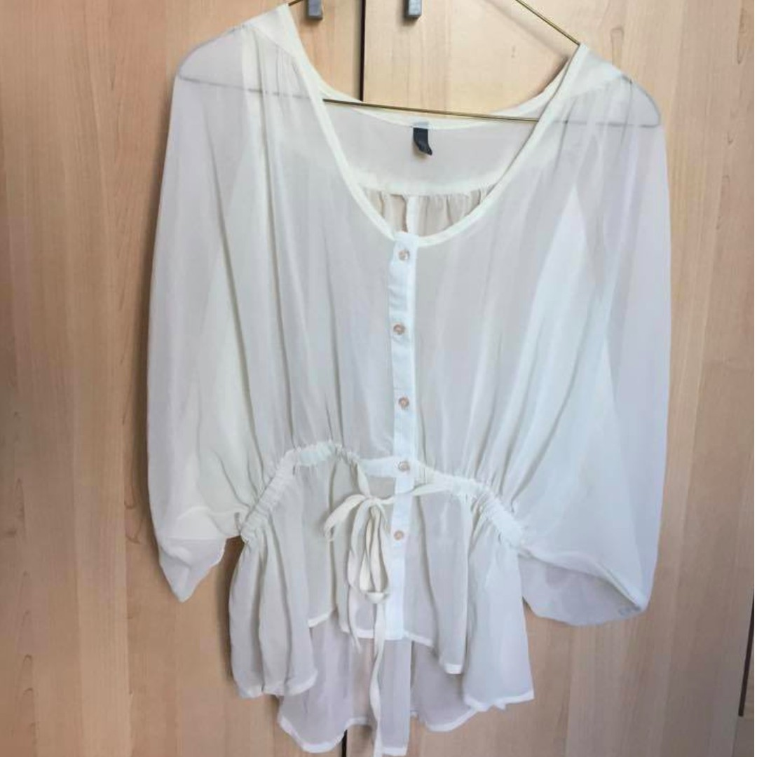 White blouse -No size