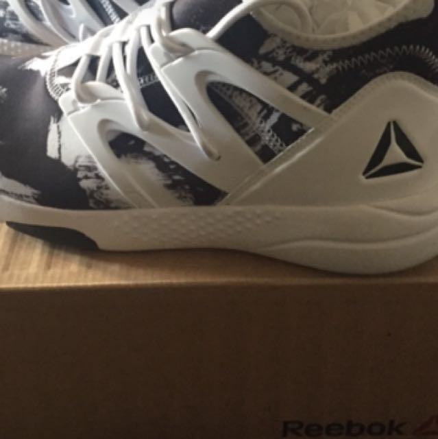 Women's Black & White Reebok