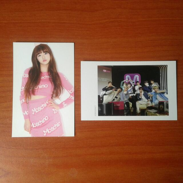 Wts Yooa Pc & Up10tion Mwave