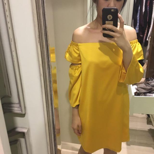 Yellow Dress Original From Pomelo