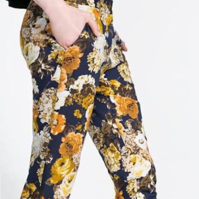 Zara Floral Authentic
