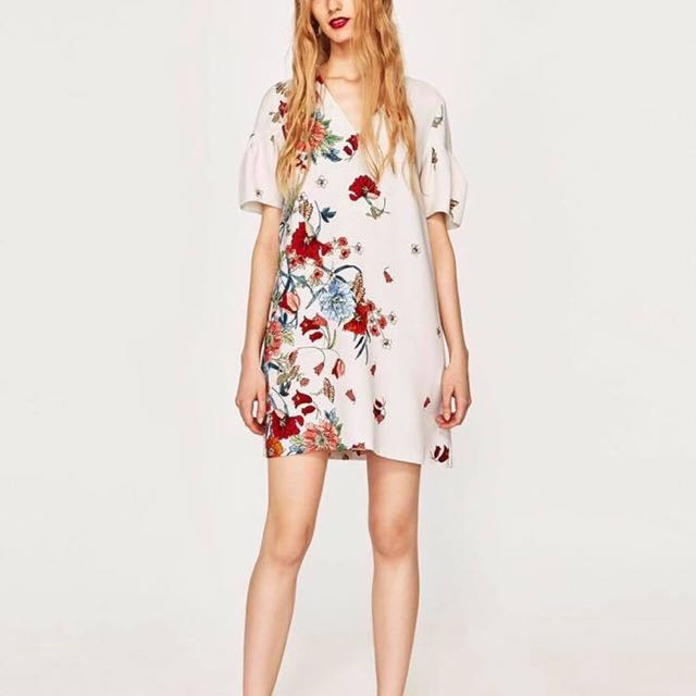 Zara Inspired Floral Dress