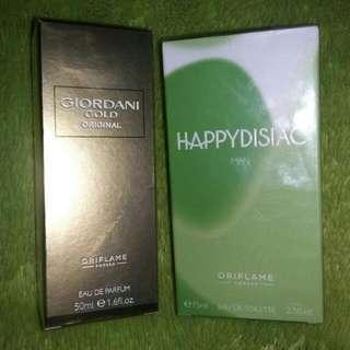 Parfum Oriflame (NEW) masih segel Dijual borongan aja biar sekalian keluar lemari hehe.. Thanks. #sss