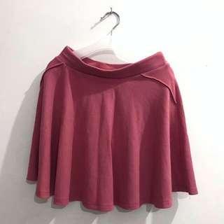 Bershka Pink Skirt