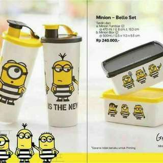 Tupperware minion set special edition
