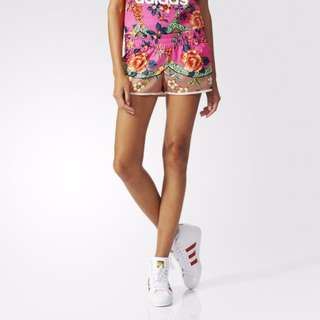 Authentic Adidas Floral Shorts
