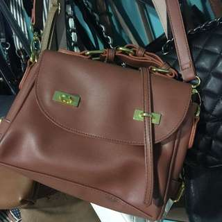 Local Brand Brown Sling Bag