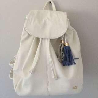 ✨NEW✨White Backpack
