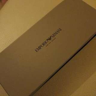Armani 旅行手錶盒