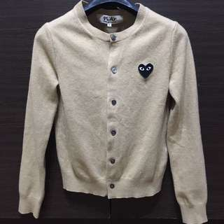 Cardigan Pullover Comme Play Comme Des Garcons