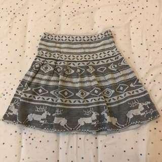 Zara - Knit Skater Skirt