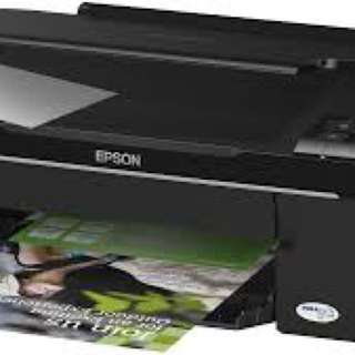 Epson All In One Stylus NX125 Printer