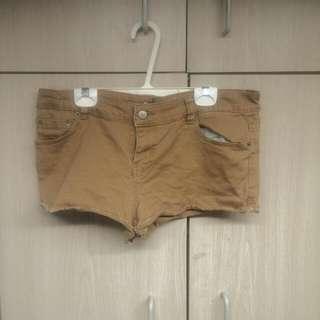 Beige Khaki Shorts