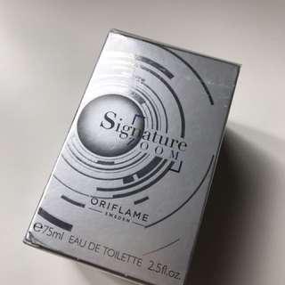 ORIFLAME SIGNATURE ZOOM PERFUME FOR MEN