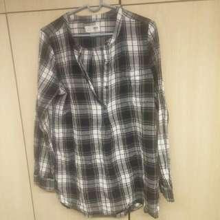 Long, Grunge, Plaid Shirt