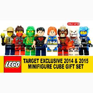 Lego Exclusive Minifigs From Target 2014 2015