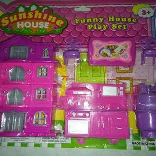 mainan rumah rumahan / funny house play set