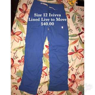 ivivva Size 12 Pants And Crops