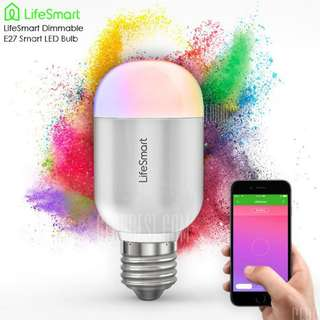 Multicolor Smart LED Bulb / Dimmable / No Hub Required