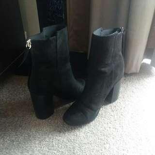 H&M High Heel Ankel Boots