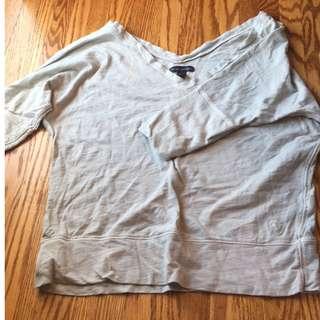 Green American Eagle Shirt