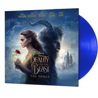 Beauty and the Beast soundtrack. vinyl lp. new