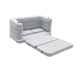 Bestway Inflatable Sofa Bed Grey