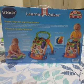 Vtech Learning Walker  Sit To Stand