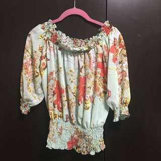 Floral Top (small)