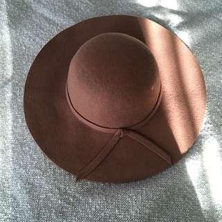 Floppy Wool Hat